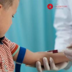 Nurse,Making,Boy,Blood,Sampling,To,Test,His,Health
